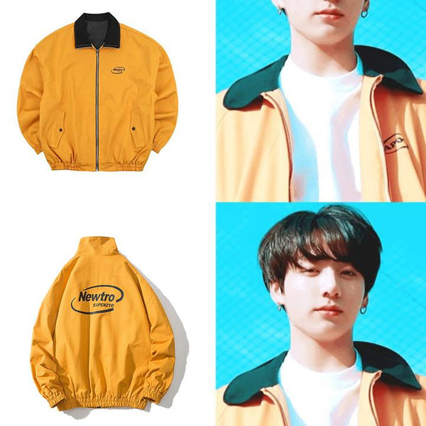 BTS Jungkook Yellow Jacket - BT21 Store | BTS Online Shop