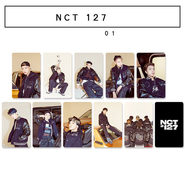 NCT 127 10 Sheets Neo Zone Double-sided Card