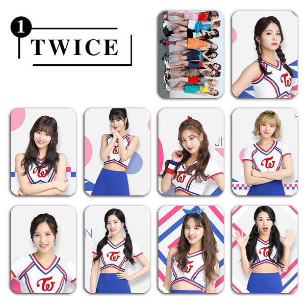 TWICE 10 Sheets Crystal Stickers