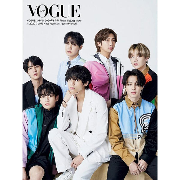 BTS VOGUE Cover  Poster - BT21 Store | BTS Online Shop