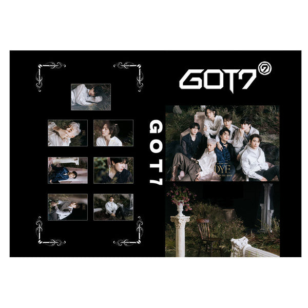 GOT7 DYE Exclusive Card Book
