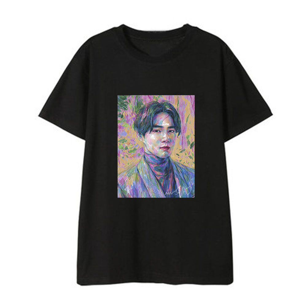 EXO SUHO Solo Self-Portrait T-shirt