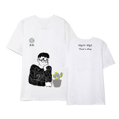 EXO D.O. Cartoon T-shirt