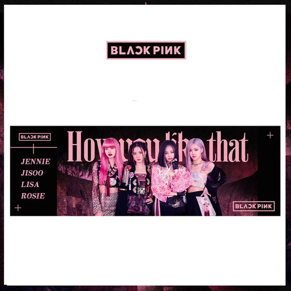 BLACKPINK HOW YOU LIKE THAT Banner