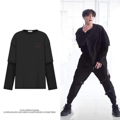 BTS Jungkook Boy With Luv Dance Practice Shirt - BT21 Store | BTS Online Shop
