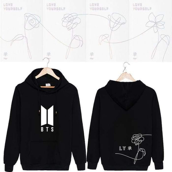 BTS Love Yourself Her Classic Hoodie - BT21 Store | BTS Online Shop