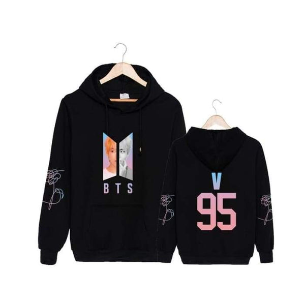 BTS Love Yourself Member Answer 'L' Classic Hoodie - BT21 Store | BTS Online Shop