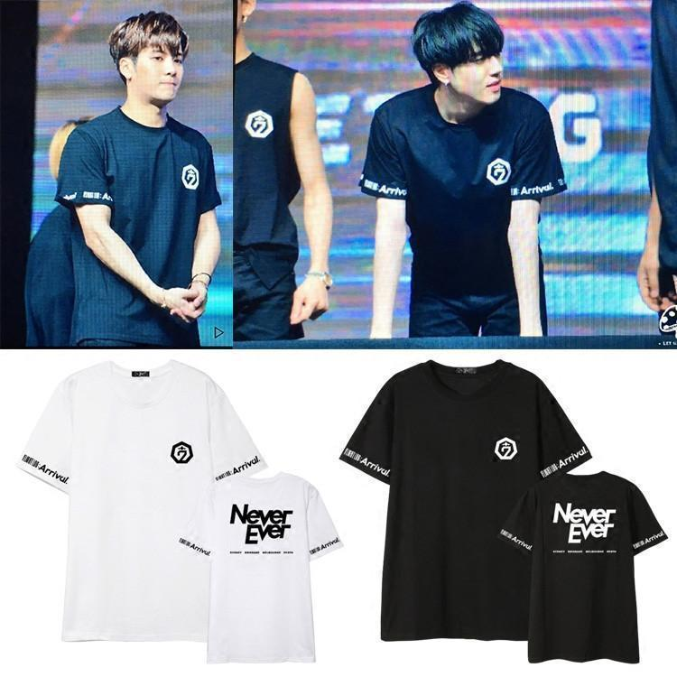 GOT7 2017 FM Never ever T-shirts