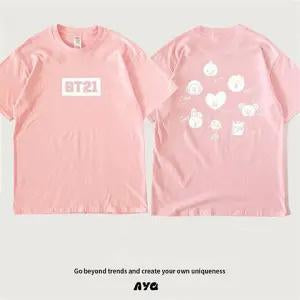 BTS X BT21 Short Sleeve T-shirt - BT21 Store | BTS Online Shop
