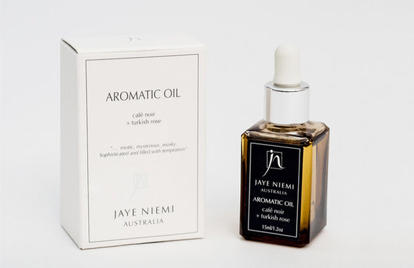 Jaye Niemi Aromatic Oil Cafe Noir + Turkish Rose