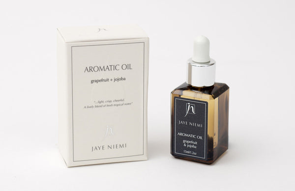 Jaye Niemi Aromatic Oils Grapefruit + Jojoba