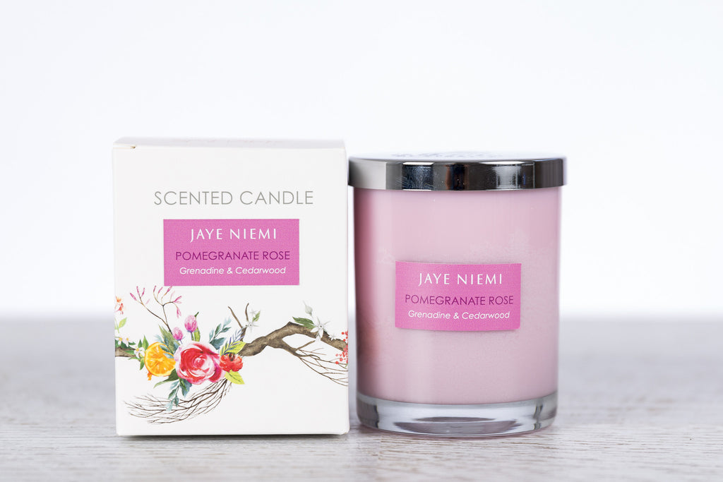 Richly Scented Candles - Pomegranate Rose