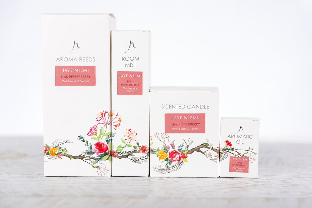 Pink PepperBerry Collection Gift Package