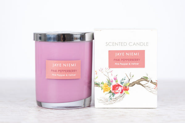 Richly Scented Candles - Pink PepperBerry