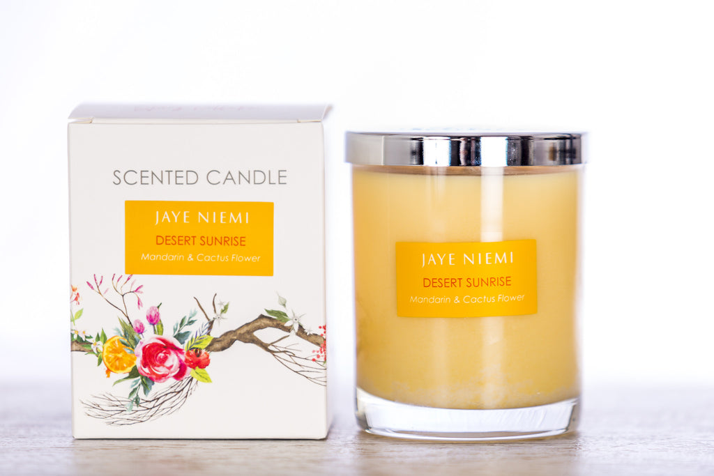 Richly Scented Candle - Desert Sunrise