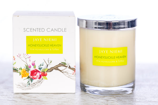 Richly Scented Candle - Honeysuckle Heaven