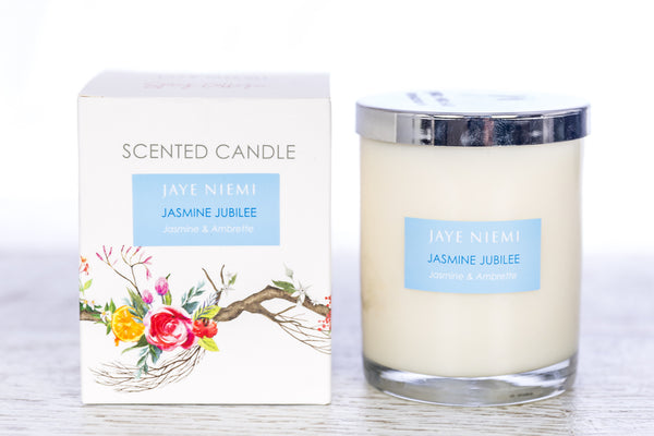 Richly Scented Candle - Jasmine Jubilee