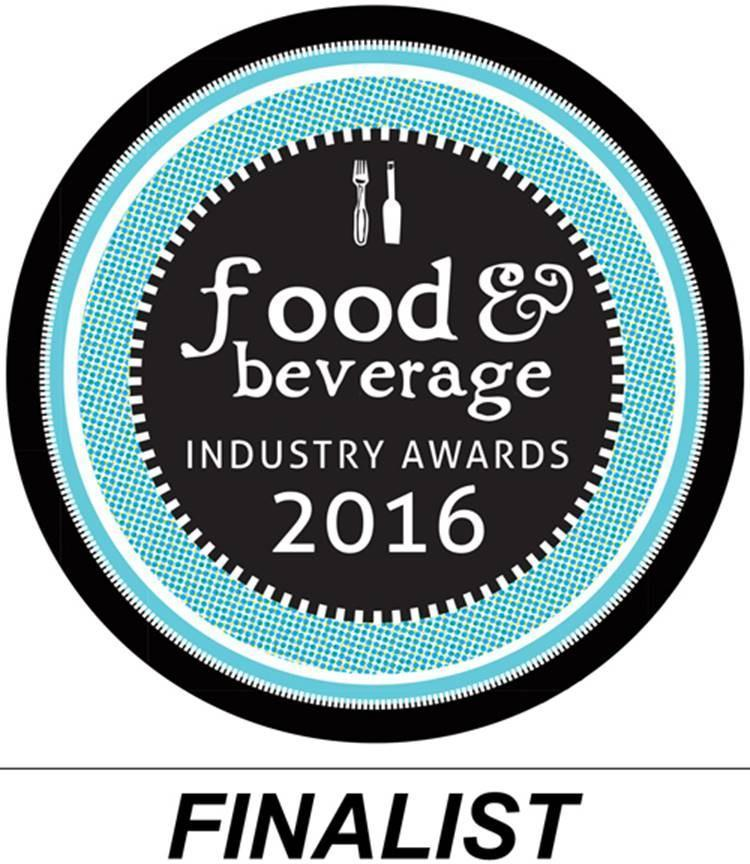 2016 Food & Beverage Industry Awards Finalist