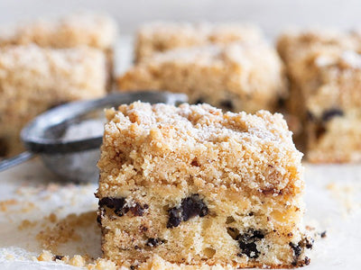 American Style Coffee Cake with Streusel Topping