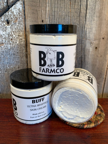 Buff Ultra Whipped Skin Cream