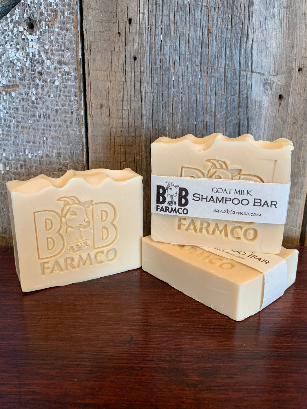 Goat Milk Shampoo Bar