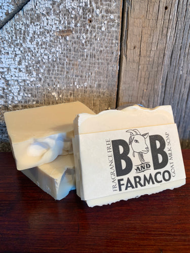 Fragrance Free Goat Milk Soap