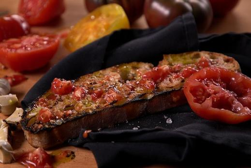 Catalan Grilled Tomato Bread - Steven Raichlen Recipe #10