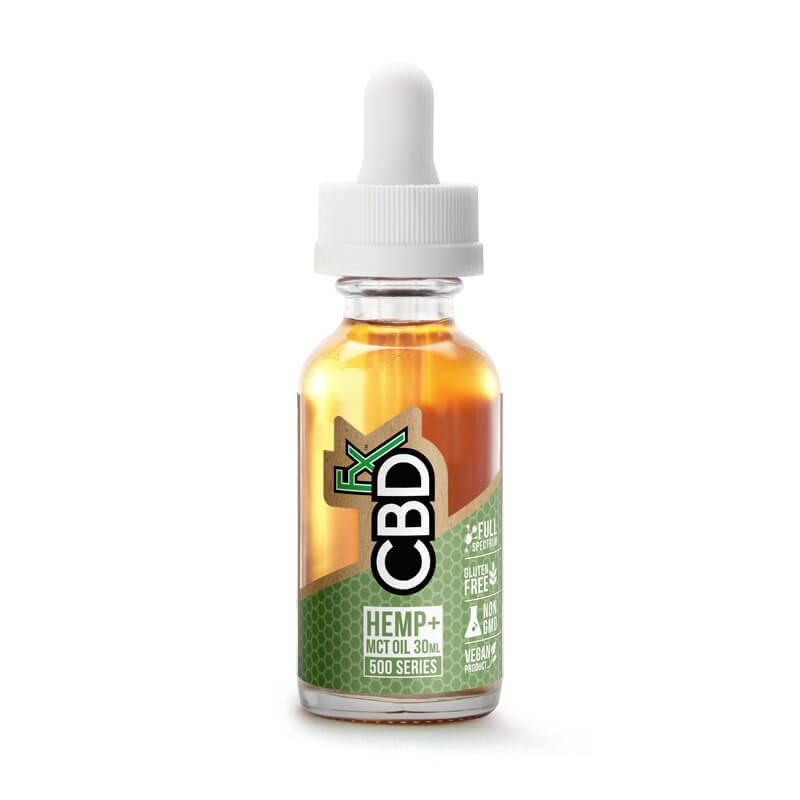 Hemp & MCT Oil Tincture 500mg