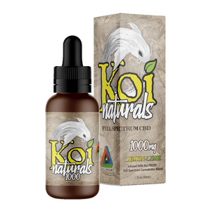 Koi Naturals, Lemon-Lime Tincture 1000mg