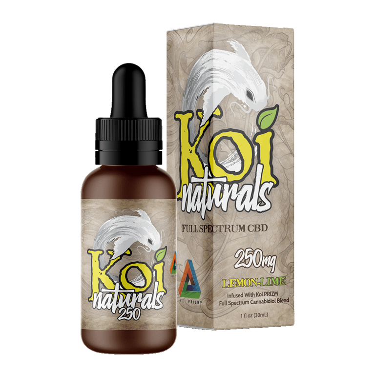 Koi Naturals, Lemon-Lime Tincture 250mg