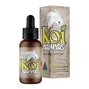 Koi Naturals, Lemon-Lime Tincture 500mg
