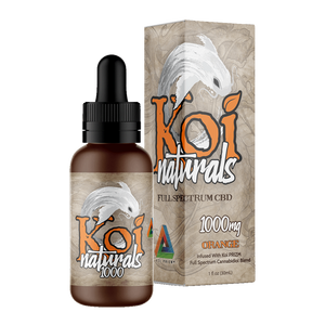 Koi Naturals, Orange Tincture 1000mg