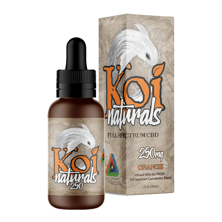 Koi Naturals, Orange Tincture 250mg