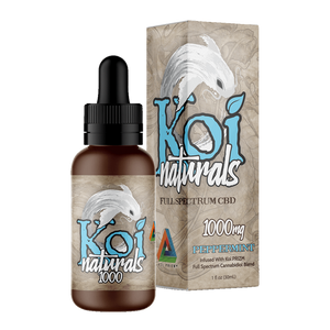 Koi Naturals, Peppermint Tincture 1000mg