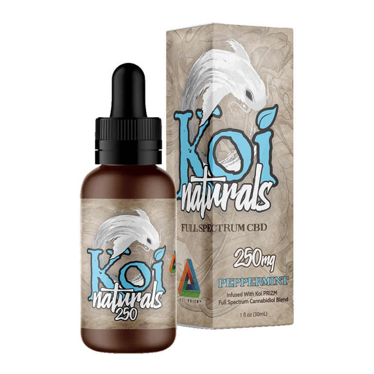 Koi Naturals, Peppermint Tincture 250mg
