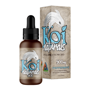 Koi Naturals, Peppermint Tincture 500mg