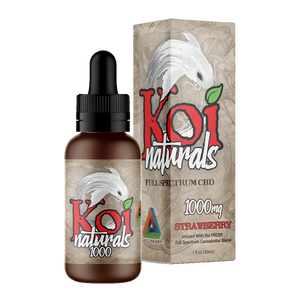 Koi Naturals, Strawberry Tincture 1000mg