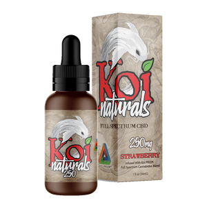 Koi Naturals, Strawberry Tincture 250mg