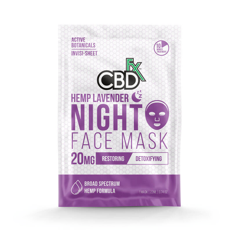 Lavender Face Mask 20mg