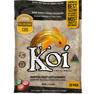 Koi Tropical Fruit Gummies