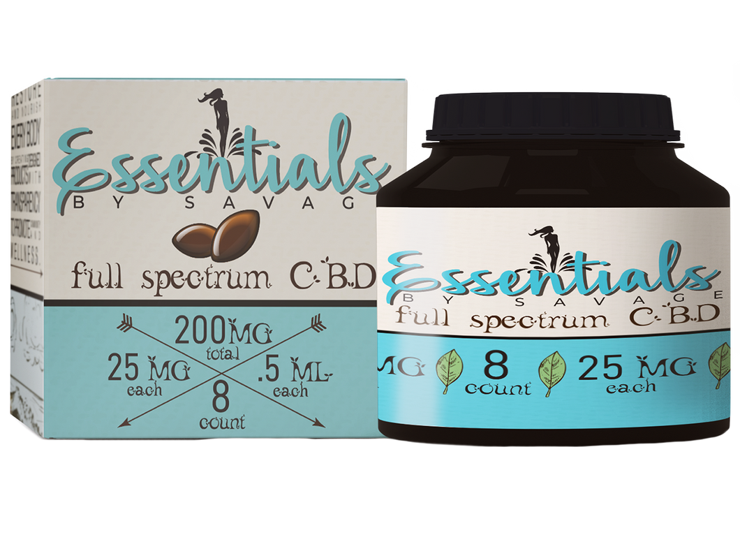 Full-Spectrum Softgels 200mg