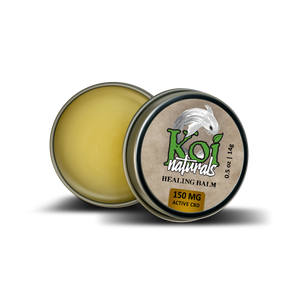 Koi Hemp Extract Travel-Size Balm