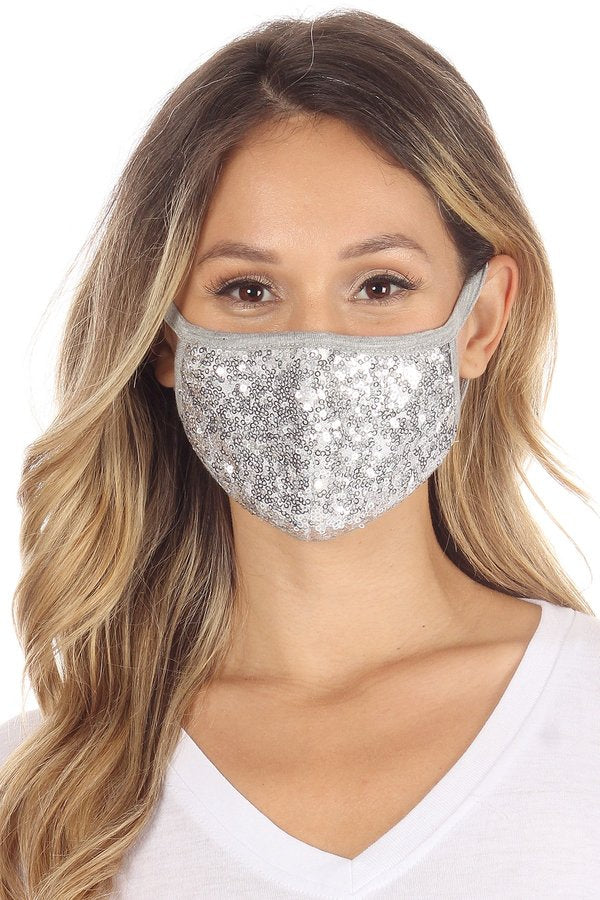 Jersey Knit Face Mask