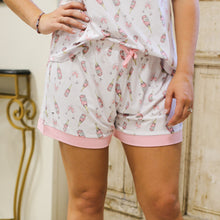 Load image into Gallery viewer, Pajama Shorts - Champagne Dreams