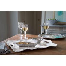 Load image into Gallery viewer, Beatriz Ball Vida Alegria White Rectangular Platter w/Handles