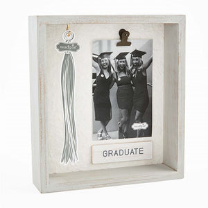 Graduation Shadow Box - Grey