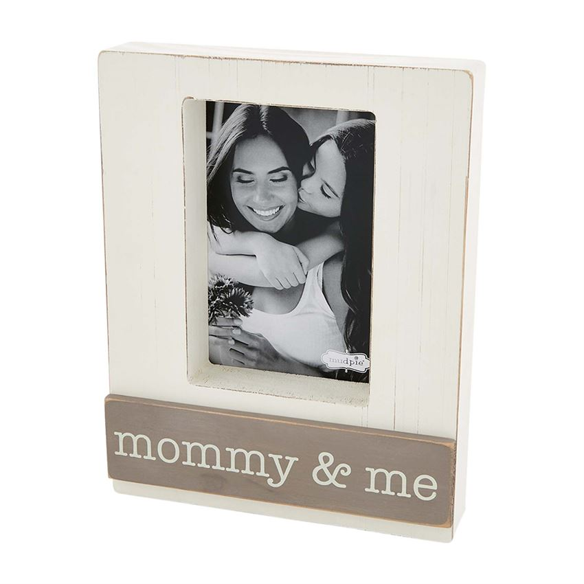Wood Block Frame - Mommy & Me