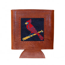 Load image into Gallery viewer, Needlepoint Can Cooler - Cardinals