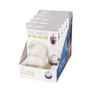 Wine Freeze On-The-Go Lid Set/2