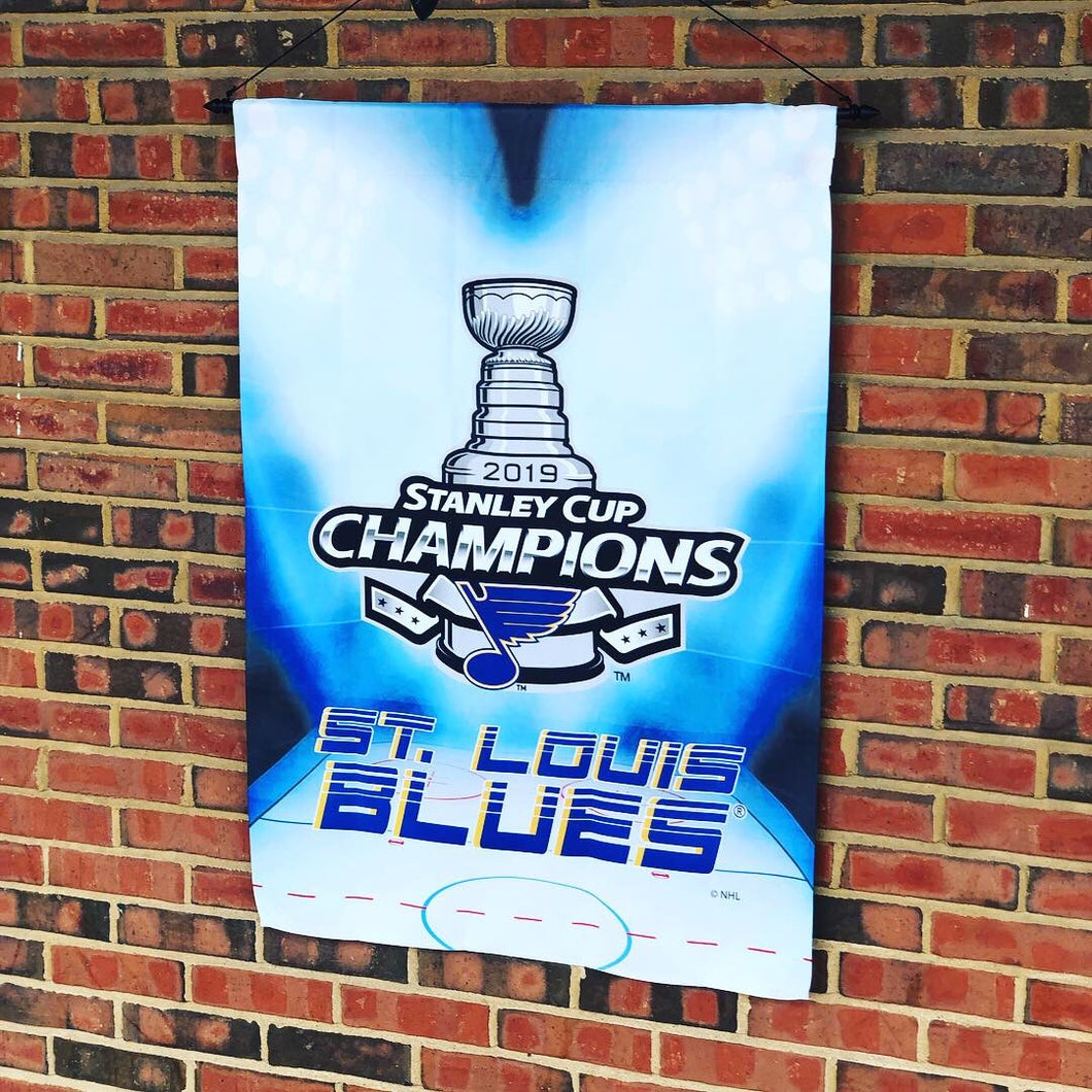XL Garden Flag - Stanley Cup Champion, Blues